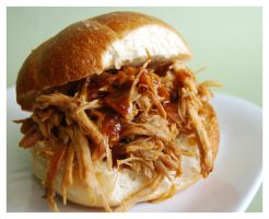 Pulled Pork Sandwich by cb-smizzle