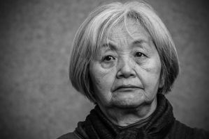 Old japanese lady II by attomanen