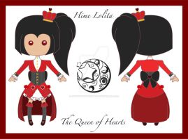 Lolita Queen of Hearts concept by DeliriousXDreamer