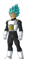 Vegeta Super Saiyan God Super Saiyan by BardockSonic
