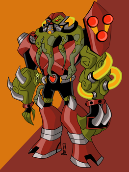 Dimension 99 Vilgax by insanedude24