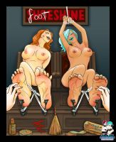 Silke Arches and I Get FootShined by Fantasy-Play