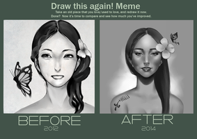 MEME : DRAW THIS AGAIN by HolliBerry
