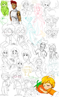 Stream5 Doodles by lilpuccafanatic
