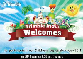childrens day invitation trimble by jamnicky