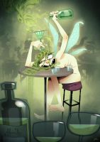 Absynthe - The totally wasted fairy by joslin