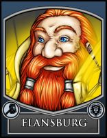 BC2013 Badge Flansburg by Noxychu
