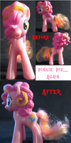 Pinkie Pie Before and After by FelidaeSilvestris