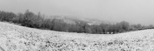 Under the snow - Panorama by Mayiaaa