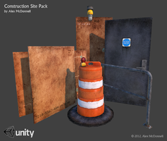 Construction Site - 3D Model Pack by DRSpaceman