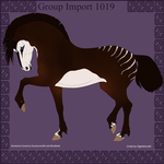 Group Horse Import 1019 by Cloudrunner64