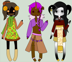 10 Point Demon Adoptables (CLOSED) by LuckyAdopts12
