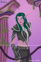 Hunter - Night elf by DragonTeal