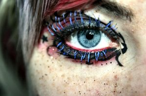 Eye make-up by emoxxpunk