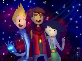 Bravest Warriors by star-vader