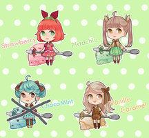 Ice Cream girls! - Set price 3/4 LEFT DISCOUNTED by ZeroLifePoints
