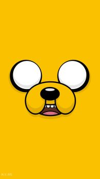 Jake the Dog Tall by biscuitatus