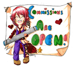COMMISSIONS ARE OPEN!! by Forever-Nocturne