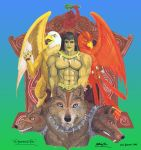 The Barbarian's Triad (2) by Dreamer-of-Legend