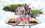 SNSD - Wallpaper  by yenlonloilop7c