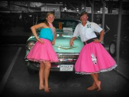 the Car Girls by coloradorebel
