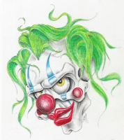 clown color by markfellows