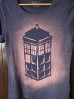 TARDIS t-shirt by Gin85