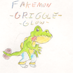 FAKEMON GRIGGLE GLOW by impostergir007