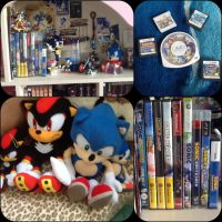 My Sonic Collection! (May 2014) by ShadowLovesKat