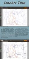 Lineart Tutorial by Eesgorn