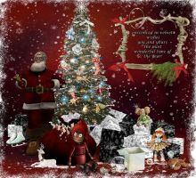 Happy Holidays from wise Sandalwood in Second Life by wiseSandalwood