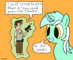 Lyra's favourite filly-hood toy by Schluberlubs