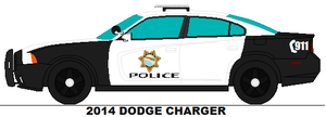 Paleto Bay Sa Police 2014 Dodge Charger by PRPFD2011