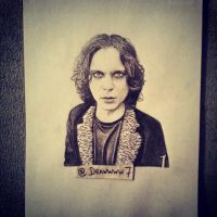 Ville Valo by Drawwww7