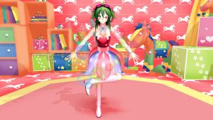 CANDY CANDY Megpoid Gumi by Meitsuniie-Shy