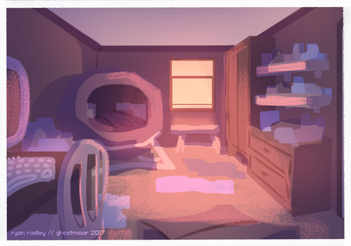 Lex's Room by reckingstacks