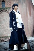 Pandora Hearts - Gilbert Nightray by FujimiyaRan