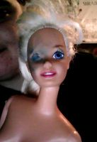 Stage 1.3 Mangled Barbie by I-Major-In-Magick
