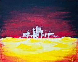 city in the desert by thenata