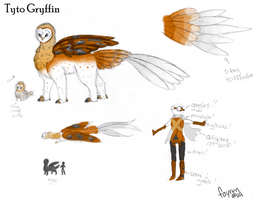 Tyto Gryffin Species Sheet by Fayren