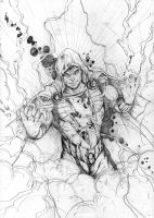 SHAZAAAAAM pencil by SaintYak