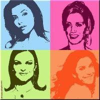 Desperate Housewives Pop Art by FantasyGraphix