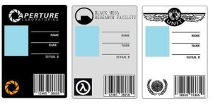 ID Cards set 1 by BadWolf42