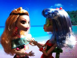 Lagoona x Ghoulia - My time with you by Chibi-Warmonger