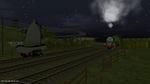 One Big Green Engine Got A Bit Of A Fright by Thatotherdude1