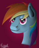 Rainbow Dash Poster by xormak