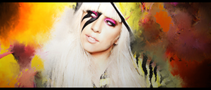 GaGa sign by Lerston