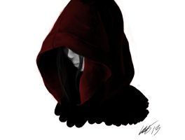 Scribbles - Red Hood by Coffin-Rabbit