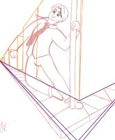 Perspective Practice with Amari WIP by LadyQueenBee