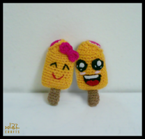 Mango Popsicles Couple by GehadMekki